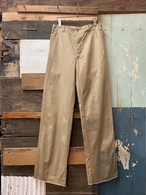 70's greek army chino trousers deadstock