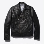 Motorcycle Jacket(Black Leather)