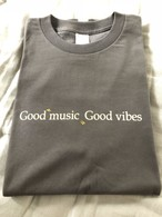 Good music Good vibes 【Charcoal Gray】