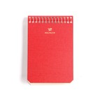 Postalco/Notebook A7/Signal Red【店頭在庫あり】