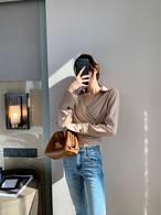 ダイアンラップシャツ シャツ 韓国ファッション