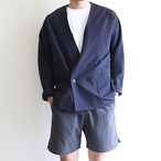 STILL BY HAND  【 mens 】sucker no collar jacket