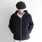 LAMOND 【 mens 】wool stretch wrap around parka