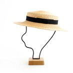 mature ha./5mm braid straw hat short