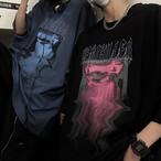 SERIKILLERプリントTシャツ(全2色) / HWG401