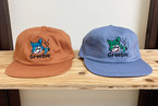 Tommy Kun Cap【Brown / Blue Purple】