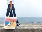 「Live Love Laugh and be Happy」BIG TOTE BAG(ビッグトートバック)