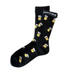 """""""Beer -black-"""" Socks (limited edition by EAZY MISS)"""