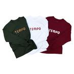 【残りわずか】TEMPO / MAIN LOGO L/S