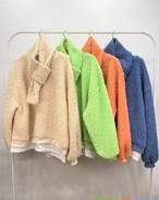 もこもこマフラーセット もこもこ トレーナー セーター MTM 韓国ファッション