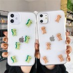 【オーダー商品】Simple dinosaur iphone case