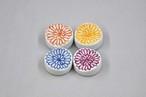 花弁紋  箸置き  4colors