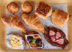 トースターで焼ける!デニッシュ生地「おうちで馬場FLAT」冷凍パン生地セット