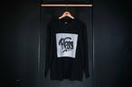 blazz x chitto BOX L/S TEE [BLACK]