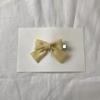Linen clip yellow