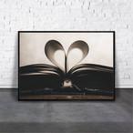 アートポスター Love Bookデザイン