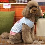 9。Paris Dog【正規輸入】犬 服 Tシャツ ピンク ブルー 春 夏物