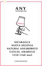[100g] El Bosque, Nicaragua - Natural Anaerobic / エルボスケ、ニカラグア - ナチュラル アナエロビック