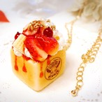 【CHITTO】イチゴのハニートーストネックレス  i0102115