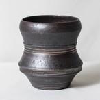 Roughness Black Plants Pot(No,06)※LARGE
