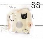 【とーすとん】立体布マスク(猫)・ベビー~キッズサイズ/マスク