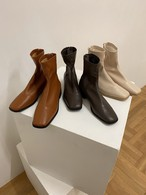 to square flat boots