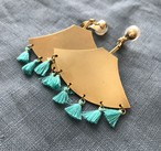 tassel earring (TaE-1) special colour  pierce/earring