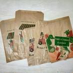フランスの果物屋さんの紙袋