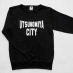 【SALE】スウェット UTSUNOMIYA CITY ブラック