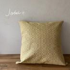 cushion cover[手織りクッションカバー] イエロー