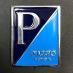 Vespa PIAGGIO エンブレム プレート 金属製