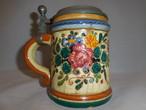 ドイツ製蓋付ジョッキporcelain mug with cover(made in Germany)