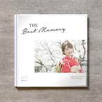Simple white-成人式_A4スクエア_6ページ/6カット_クラシックアルバム(アクリルカバー)
