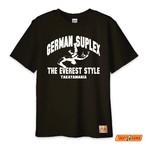 コピー:TM-GE2005 TAKAYAMANIA GERMAN Tシャツ ブラックxホワイト