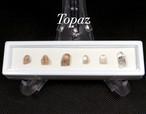 【鉱物標本セット】トパーズ ユタ州産 ラクタングル#5 原石 宝石 天然石 TZ055 鉱物セット