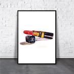 アートポスター/ブランド・北欧風・モダンアート/インテリア用/A4(210 x 297mm)/ポスターのみ/AP#110