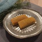 グルテンフリー:バニラのスティックケーキ