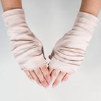 【ハンドソックス】サクラ(ピンク)/さりげなくウイルス対策できるUVケア手袋/サッと伸ばして手先まで日差しから守る