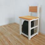 ランドセル収納チェア / 背もたれ椅子 / チェア  【国産紀州材使用】