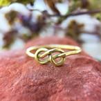 真鍮製 縁を結び想いが実を結ぶリングⅡ