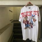 USA製 キャラTシャツ タズ 白