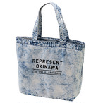LOGO DENIM TOTE BAG