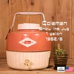 Coleman コールマン スノーライト ジャグ ビンテージ ピンク 1ガロン [ BI06 ]