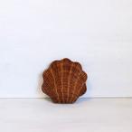 【R-326】貝型 ラタン小物入れ