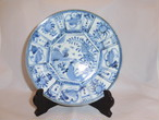 伊万里染付芙蓉手皿 Imari blue &white porcelain small plate(Fuyo model)