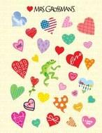 Sale!  30th Anniversary Sticker Sheet