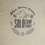 【完全受注】Solo Camp Tシャツ【サンドベージュ】