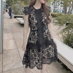 princess lace dress 5色
