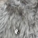 【Handmade】Yin yang Chain Necklace