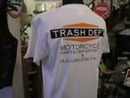 TRASH DEPT オリジナルTシャツ タイプA ホワイト